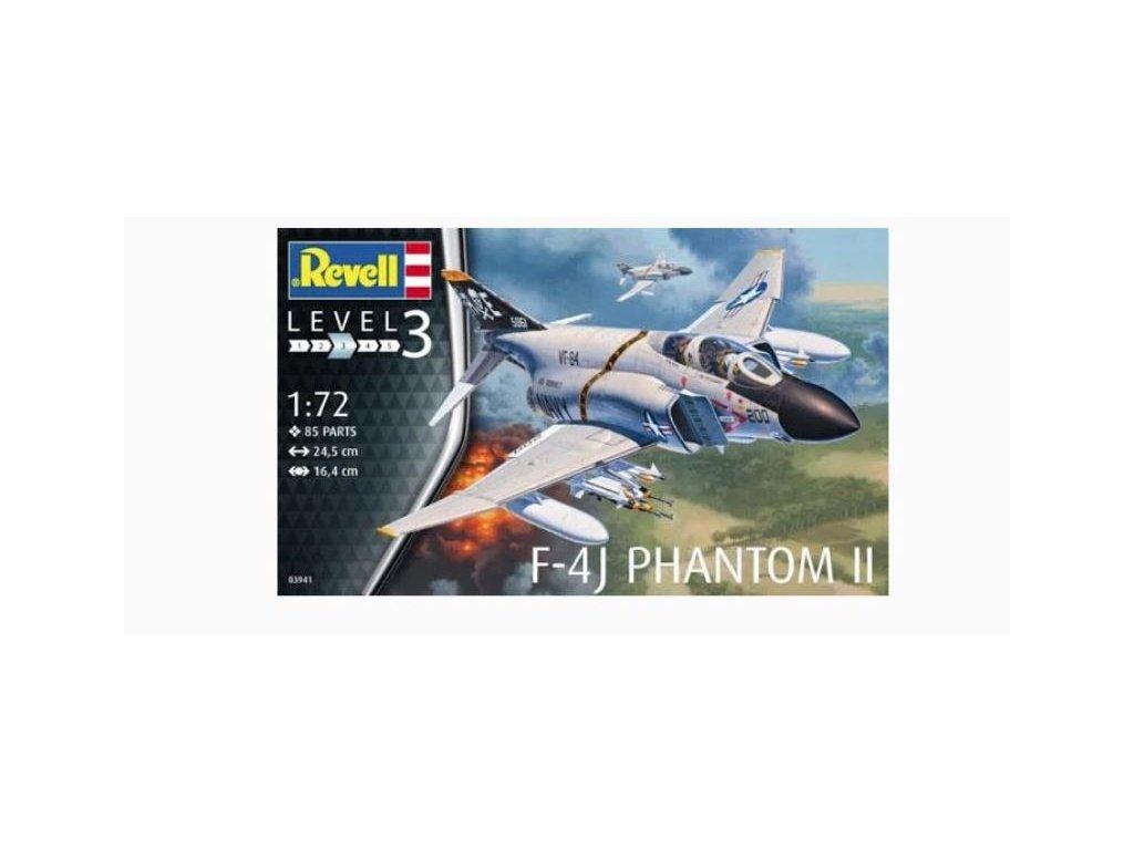 737 plastovy model lietadlo revell 03941 f 4j phantom us navy 1 72