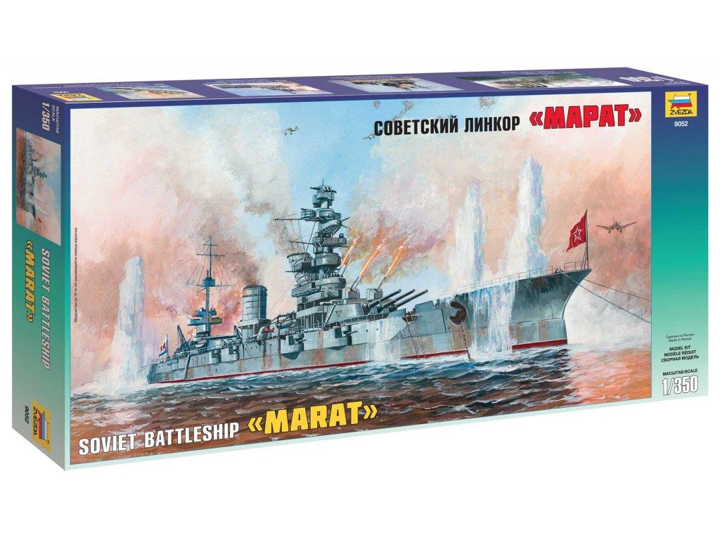 776 model kit lod zvezda 9052 battleship marat 1 350
