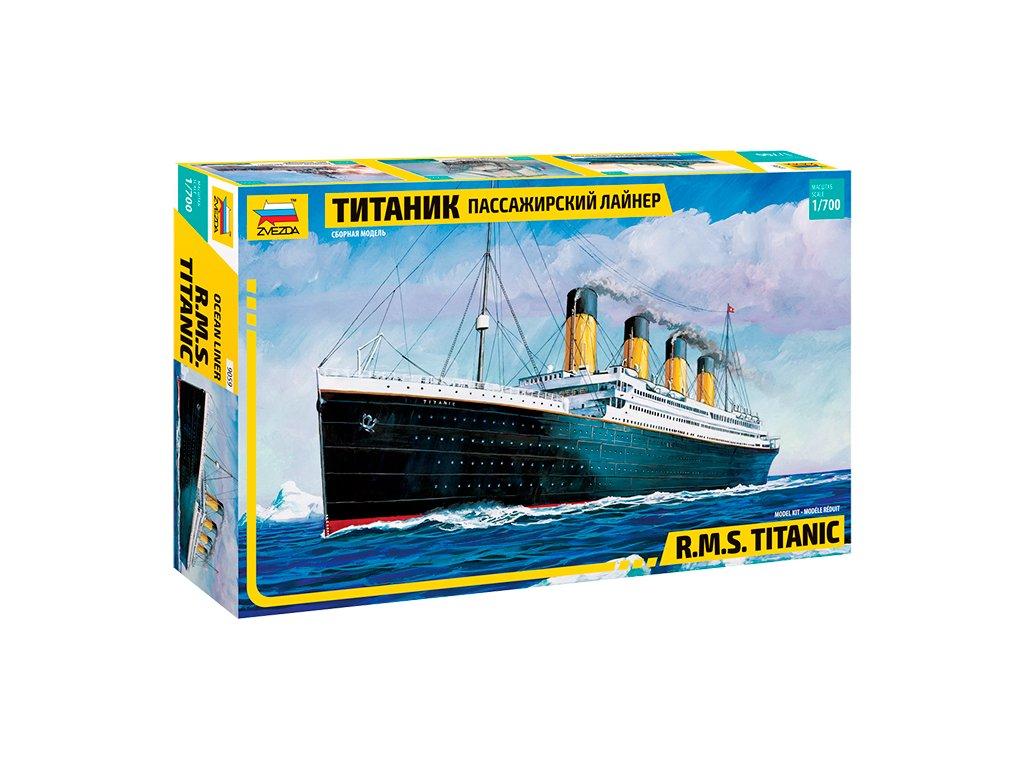 785 model kit lod zvezda 9059 r m s titanic 1 700