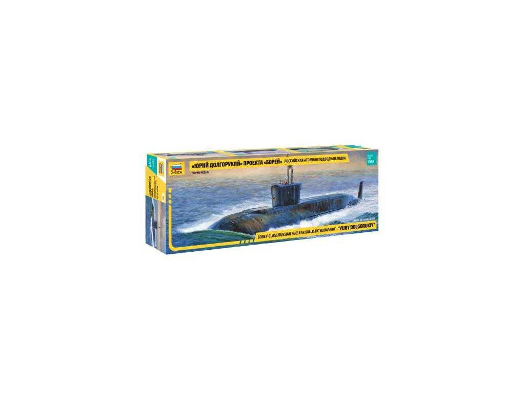 791 model kit ponorka zvezda 9061 nuclear submarine yury dolgorukiy 1 350