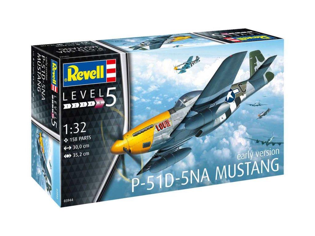 797 plastovy model lietadlo revell 03944 p 51d 5na mustang 1 32