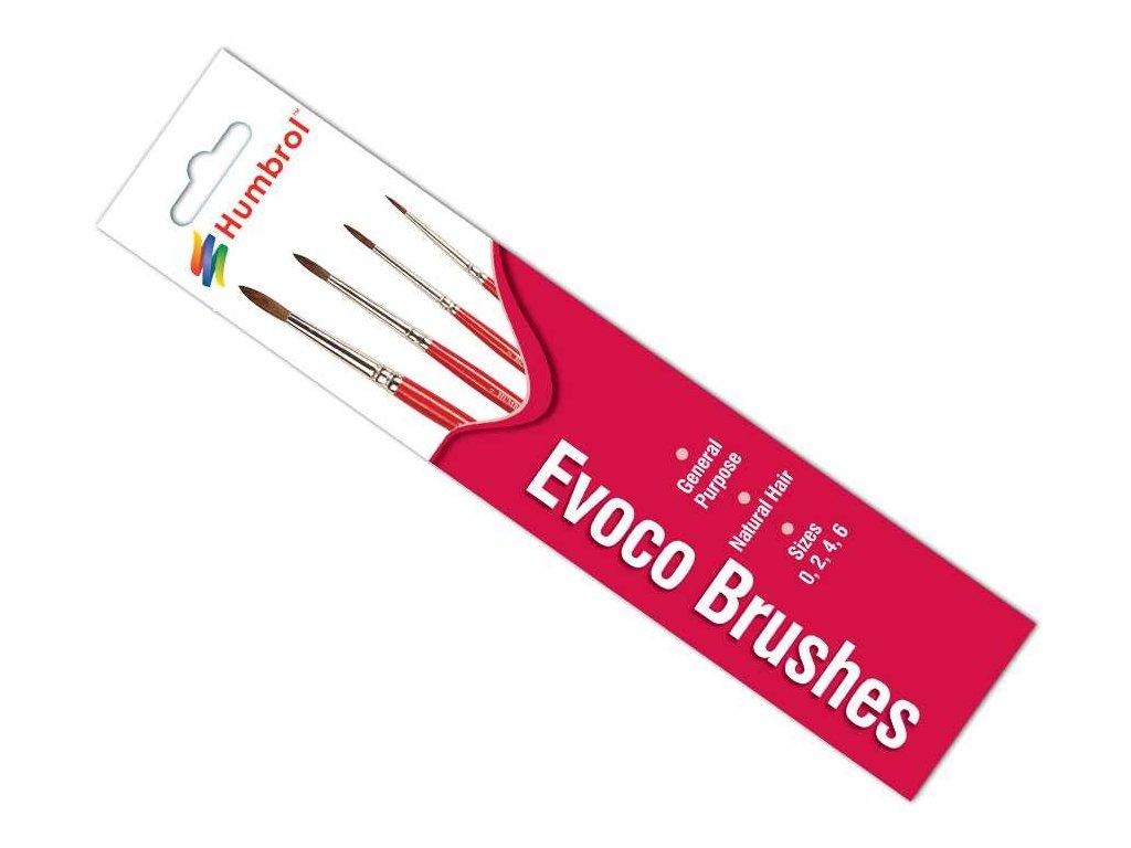 8000 sada stetcov humbrol ag4150 evoco brush pack velkost 0 2 4 6