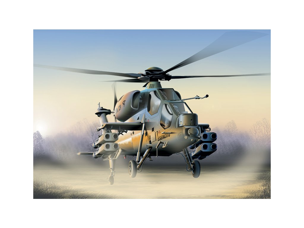 803 model kit vrtulnik italeri 0006 a 129 mangusta 1 72