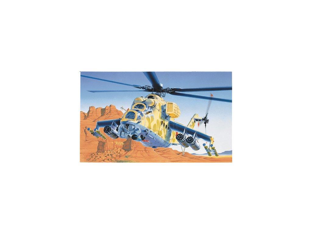 806 model kit vrtulnik italeri 0014 mil 24 hind d e 1 72