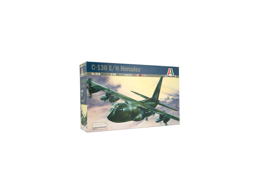 809 model kit lietadlo italeri 0015 c 130 e h hercules 1 72