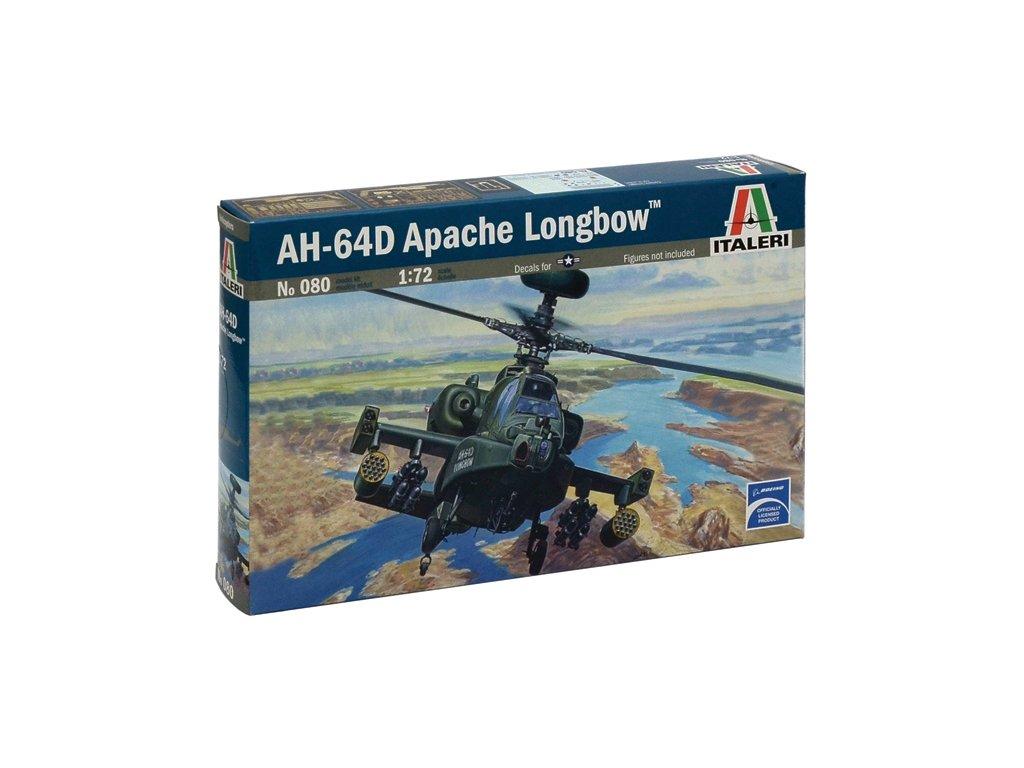 830 model kit vrtulnik italeri 0080 ah 64 d apache longbow 1 72