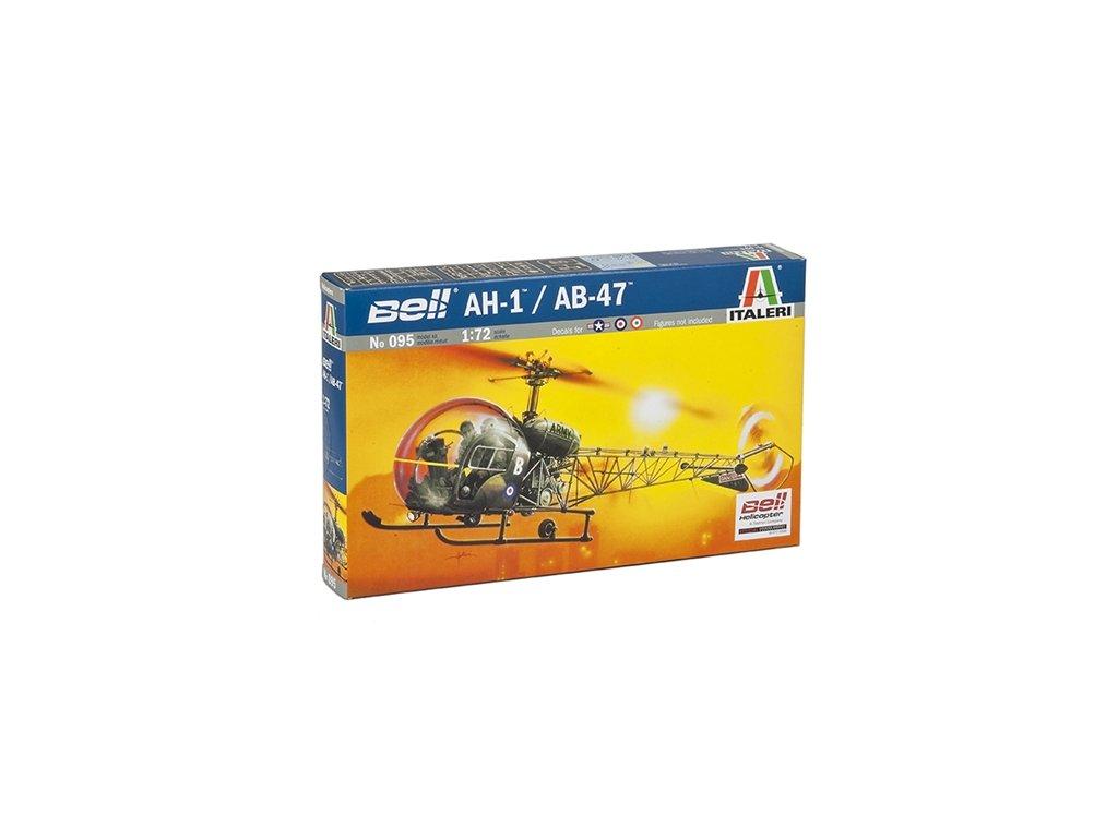 839 model kit vrtulnik italeri 0095 ah 1 ab 47 1 72