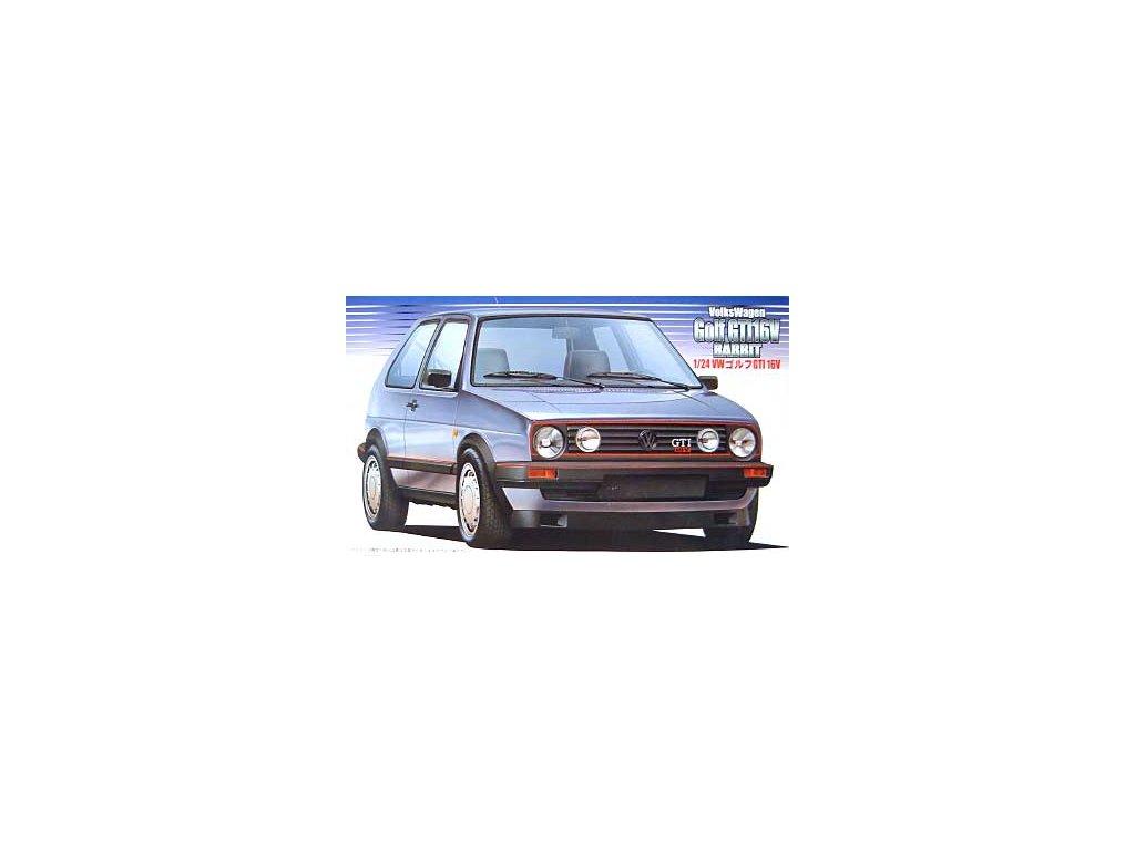 8399 model kit auto fujimi fu12498 volkswagen golf gti 16v rabbit 1 24