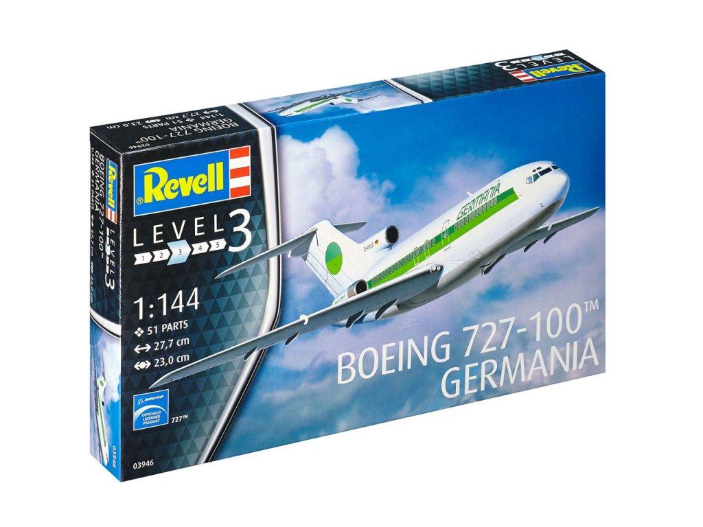 842 plastovy model lietadlo revell 03946 boeing 727 1 144
