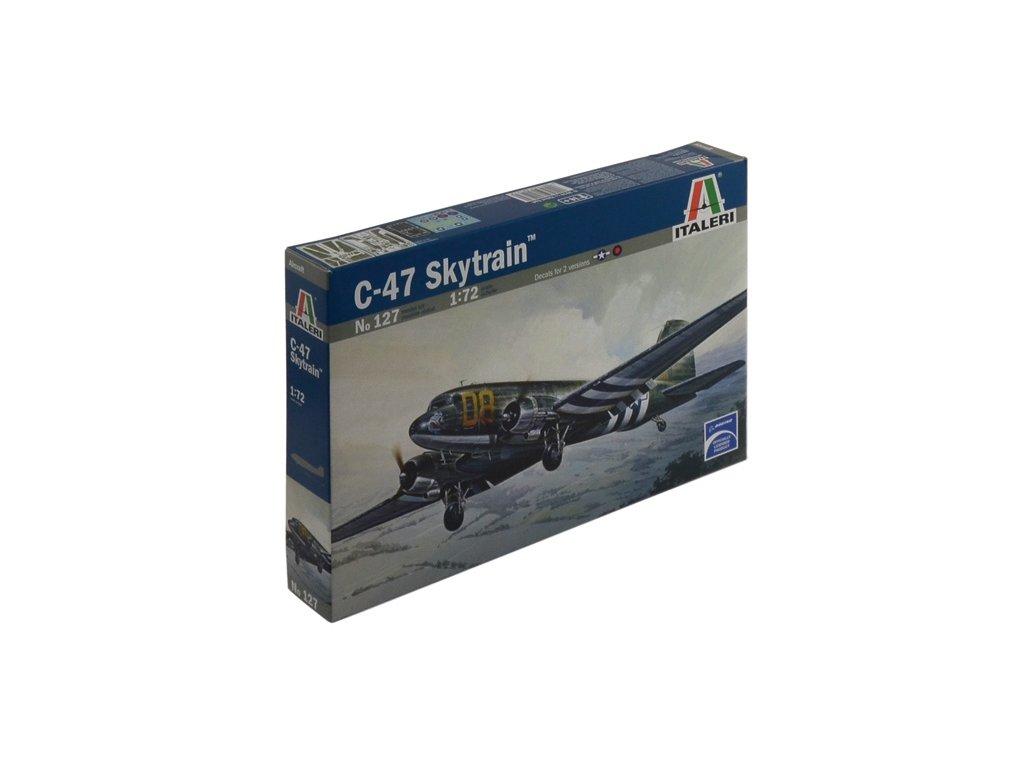 845 model kit lietadlo italeri 0127 c 47 skytrain 1 72