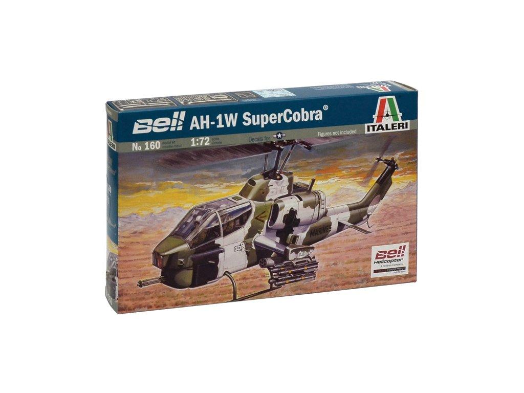 854 model kit vrtulnik italeri 0160 ah 1w super cobra 1 72