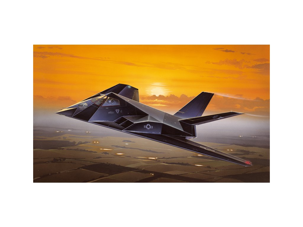 863 model kit lietadlo italeri 0189 f 117a nighthawk 1 72