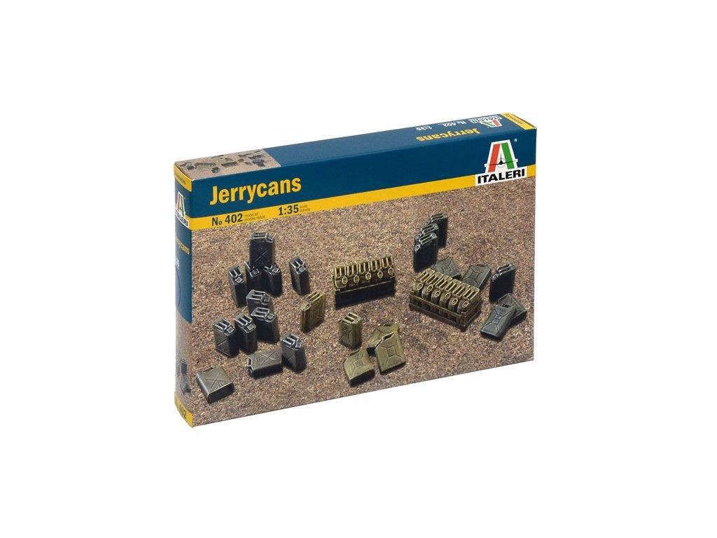 896 model kit doplnky italeri 0402 jerrycans 1 35