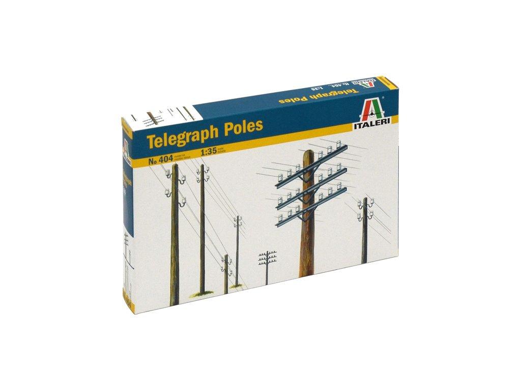 899 model kit doplnky italeri 0404 telegraph poles 1 35