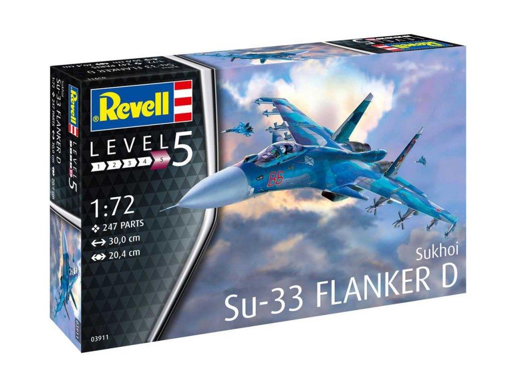 92 plastovy model lietadlo revell 03911 sukhoi su 33 navy flanker 1 72