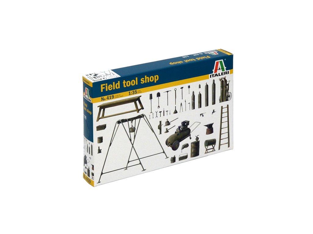 920 model kit doplnky italeri 0419 field tool shop 1 35