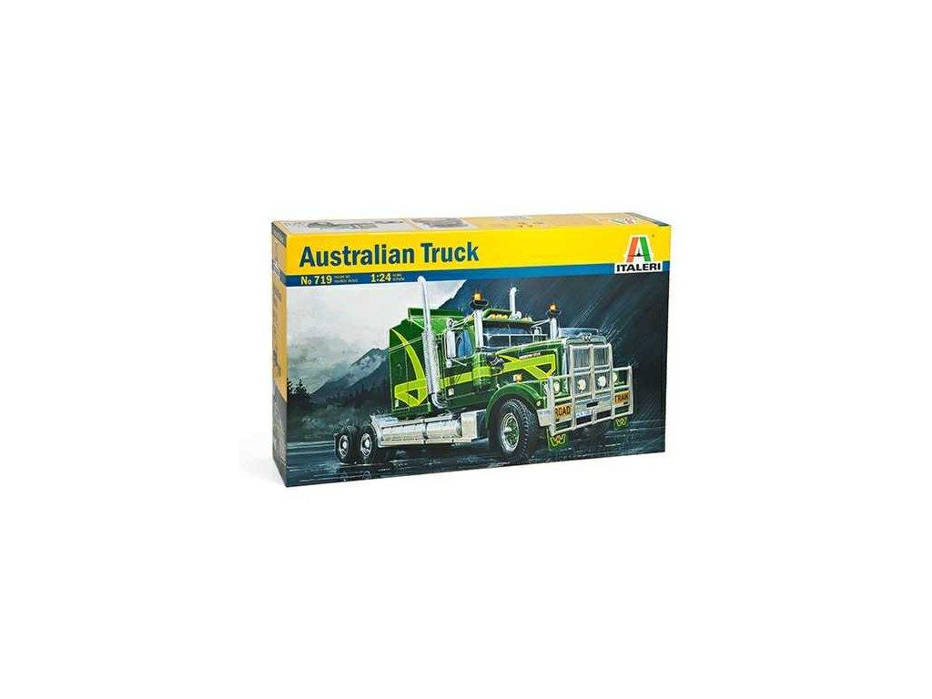 926 model kit truck italeri 0719 australian truck 1 24