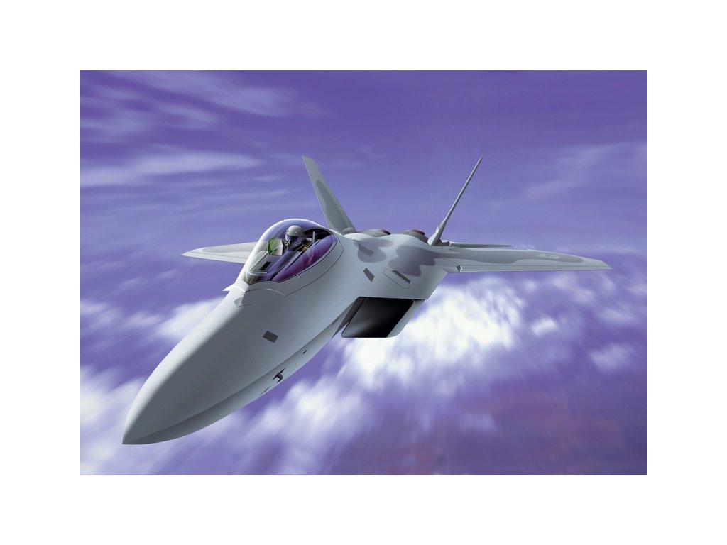 950 model kit lietadlo italeri 1207 f 22 raptor 1 72
