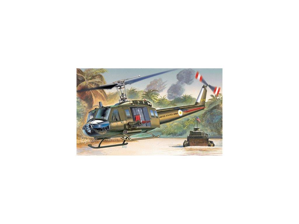 965 model kit vrtulnik italeri 1247 uh 1d iroquois 1 72