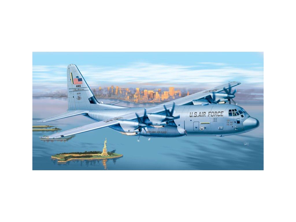 968 model kit lietadlo prm edice italeri 1255 c 130 j hercules 1 72