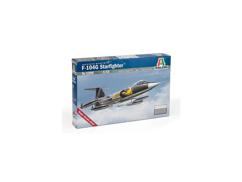 983 model kit lietadlo italeri 1296 f 104 g starfighter 1 72