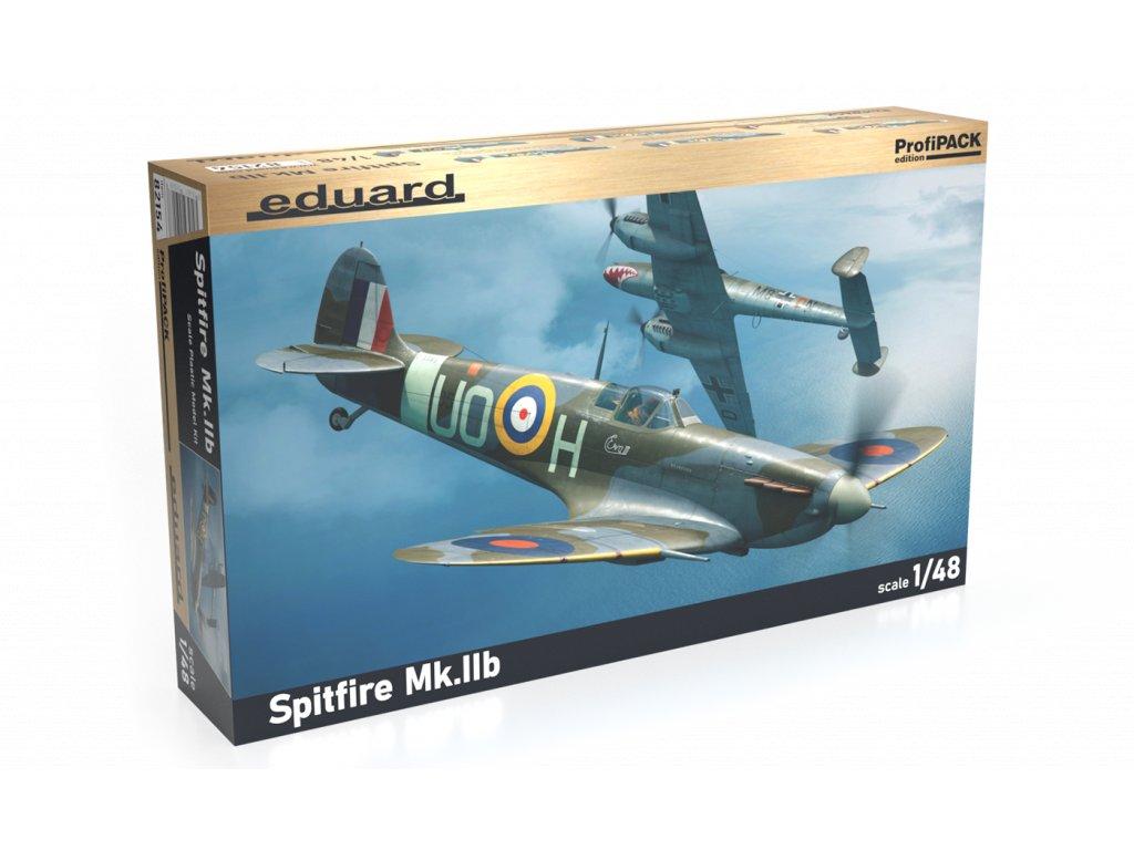 Plastový model lietadlo EDUARD 82154 - Spitfire Mk. IIb 1/48