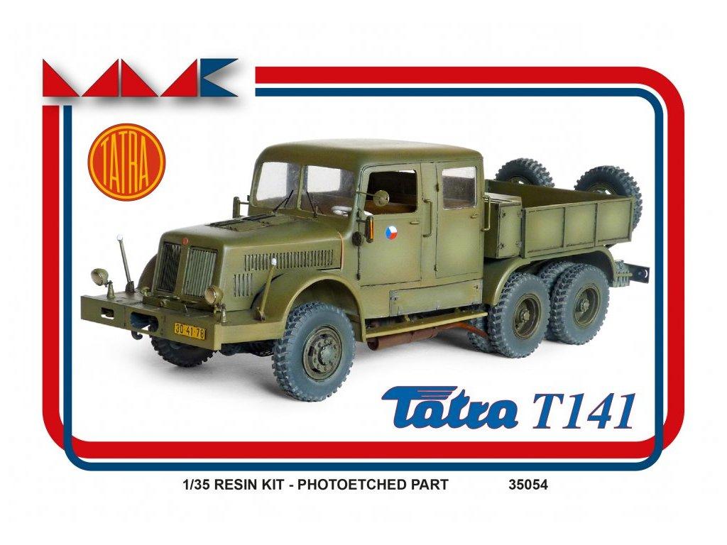 Resinový model kamion MMK 35054 - TATRA 141 (1:35)