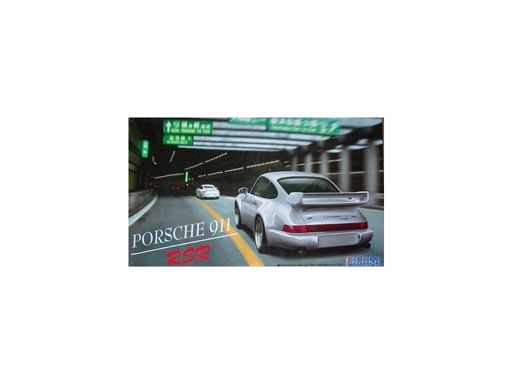 Model Kit auto FUJIMI FU12311 - Porsche 911 RSR (1:24)