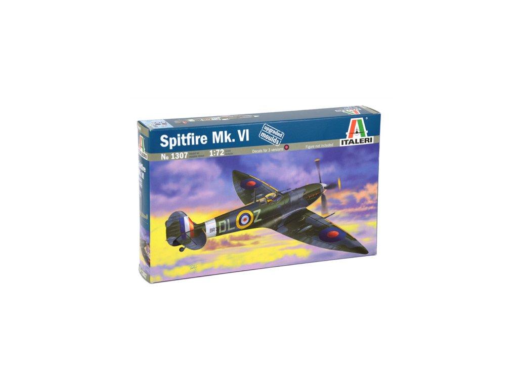 995 model kit lietadlo italeri 1307 spitfire mk vi 1 72