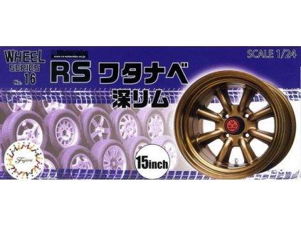 Disky FUJIMI FU19357 - RS Watanabe Deep Rim 15-inch (1:24)