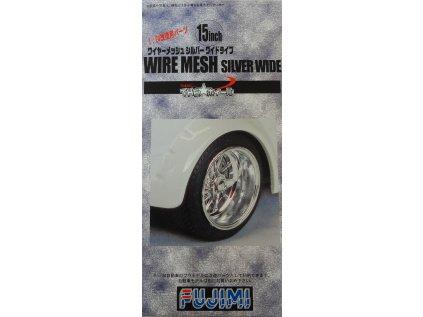 Disky FUJIMI FU19288 - Wire Mesh Silver Wide 15 inch (1:24)