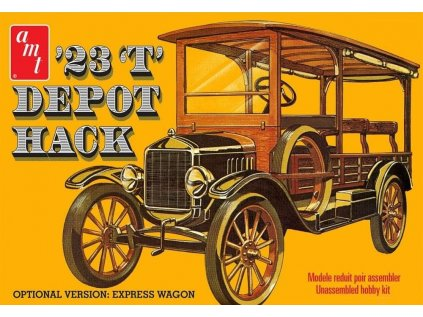 Plastový model auto AMT 1237 - '23 'T' Depot Hack (1:25)