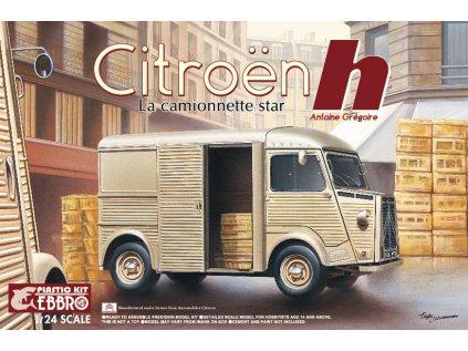 Plastový model auto EBBRO 25007 - Citroën H La Camionnette star (1:24)