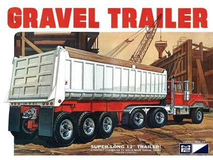 Plastový model náves MPC 0823 - Gravel Trailer (1:25)