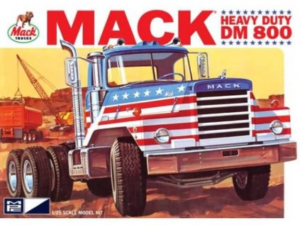 Plastový model kamion MPC 0899 - Heavy duty Mack DM800 (1:25)