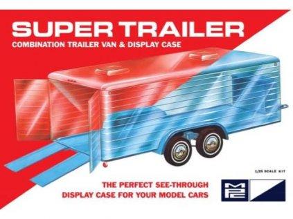 Plastový model náves MPC 0909 - Super Display Case Trailer (1:25)