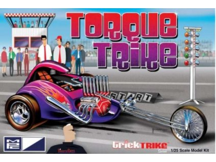 Plastový model motorka MPC 0897 - Torque Trike (1:25)
