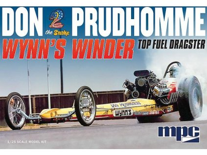 Plastový model auto MPC 0921 - Don The Snake Prudhomme Wynn's Winder Top Fuel Dragster (1:25)
