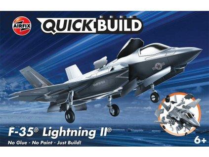 Quick Build lietadlo AIRFIX J6040 - F-35B Lightning II