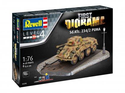 Darčekový set tank REVELL 03298 - Sd. Kfz. 234/2 Puma (1:76)