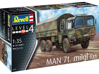 Plastový model military REVELL 03291 - MAN 7t Milgl (1:35)
