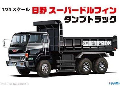 Plastový model kamion FUJIMI FU11943 - Hino Super Dolphin Dump Truck (1:24)