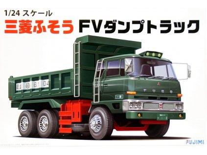 Plastový model kamion FUJIMI FU11974 - Mitsubishi Fuso Dump Truck (1:24)