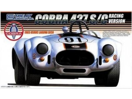 Model Kit auto FUJIMI FU12092 - Shelby Cobra 427 S/C Racing Version 1965 (1:24)