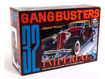 Model Kit auto MPC 0926 - Gangbusters 32 Chrysler Imperial 8 (1:25)