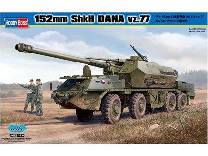 Plastový model military HOBBY BOSS 85501 - 152mm ShkH DANA vz.77 (1:35)