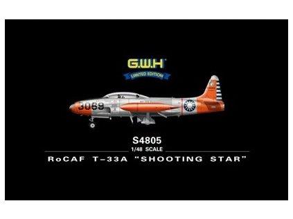 "Plastový model lietadlo GWH S4805 - RoCAF T-33A ""Shooting Star"" 1/48"