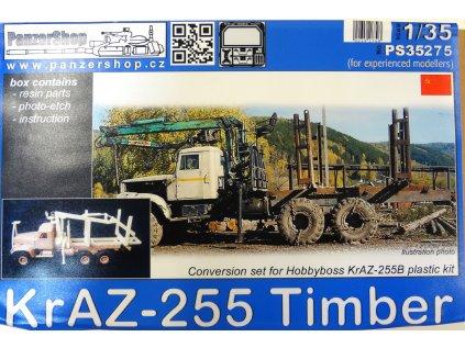 Resinový transkit PANZER SHOP PS35275 - KraZ-255 Timber (Hobbyboss) (1:35)