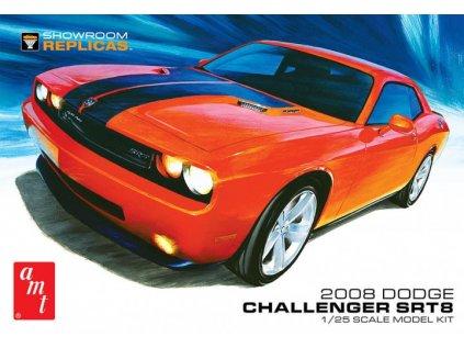 Plastový model auto AMT 1075 - 2008 Dodge Challenger SRT8 (1:25)