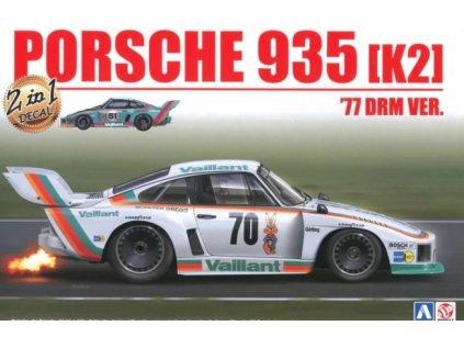 Model Kit auto BEEMAX B24015 - Porsche 935 [K2] '77 DRM Ver. (1:24)